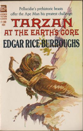 Tarzan at the Earth's Core (Tarzan 13, Pellucidar 4). Edgar Rice Burroughs.