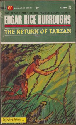 The Return of Tarzan (Tarzan 2). Edgar Rice Burroughs.