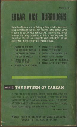 The Return of Tarzan (Tarzan 2)
