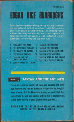 Tarzan and the Ant Men (Tarzan 10)