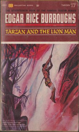 Tarzan and the Lion Man (Tarzan 17). Edgar Rice Burroughs.
