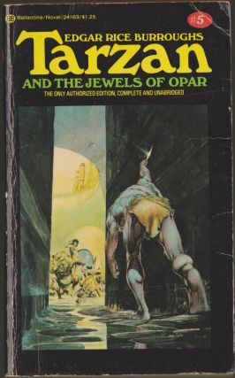 Tarzan and the Jewels of Opar (Tarzan 5). Edgar Rice Burroughs.