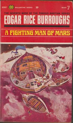 A Fighting Man of Mars (Mars 7). Edgar Rice Burroughs