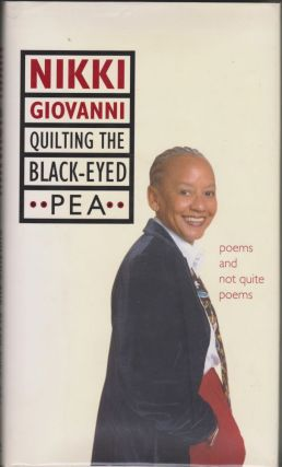 Quilting the Black-Eyed Pea: Poems and Not Quite Poems (includes signed promotional pamphlet)....