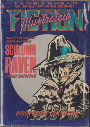 Fiction Illustrated Volume One: Schlomo Raven, Public Detective. Byron Preiss