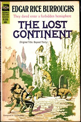 The Lost Continent. Edgar Rice Burroughs