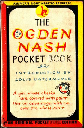 The Ogden Nash Pocket Book. Ogden Nash