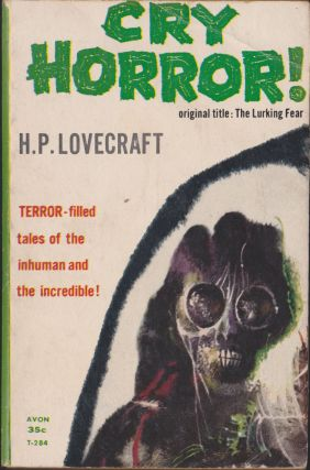 Cry Horror! H. P. Lovecraft