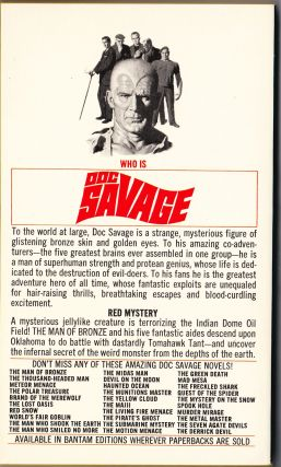 The Derrick Devil, a Doc Savage Adventure (Doc Savage #74)