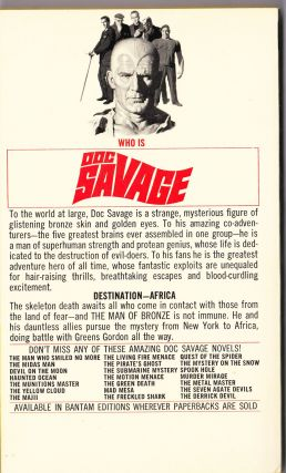 The Land of Fear, a Doc Savage Adventure (Doc Savage #75)