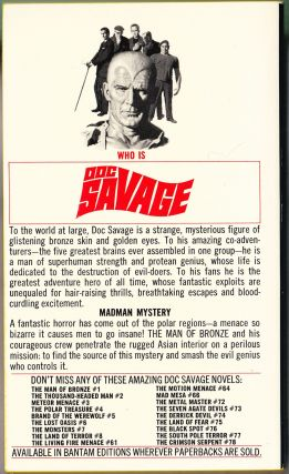 The Devil Genghis, a Doc Savage Adventure (Doc Savage #79)