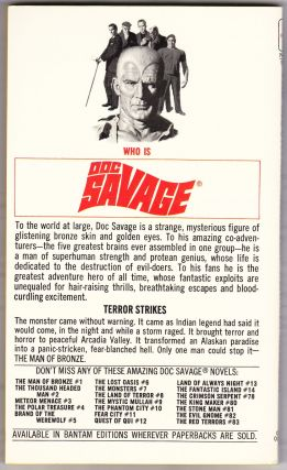 The Boss of Terror, a Doc Savage Adventure (Doc Savage #85)