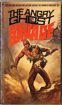 The Angry Ghost, a Doc Savage Adventure (Doc Savage #86)