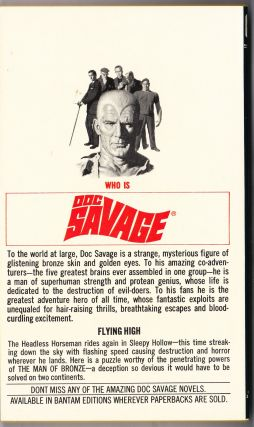 The Flying Goblin, a Doc Savage Adventure (Doc Savage #90)
