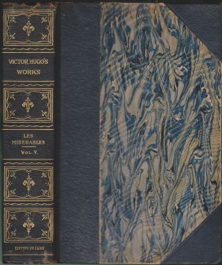 Les Miserables (Five Volumes In Three) (Volume 3 only). Victor Hugo.