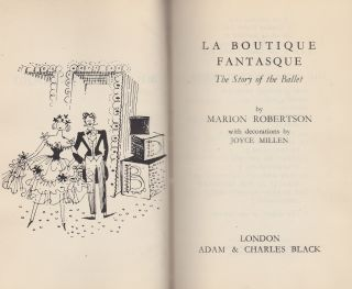 La Boutique Fantasque; The Story of the Ballet