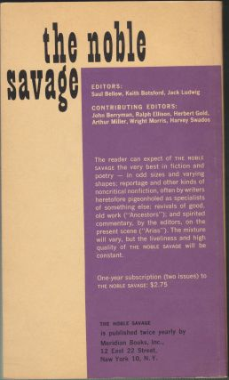 The Noble Savage 1