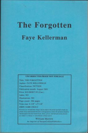The Forgotten. Faye Kellerman