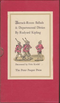 Barrack-Room Ballads & Departmental Ditties. Rudyard Kipling