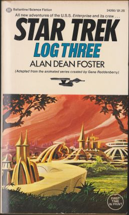 Star Trek Log Three. Alan Dean Foster