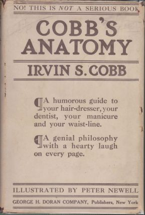 Cobb's Anatomy. Irvin S. Cobb