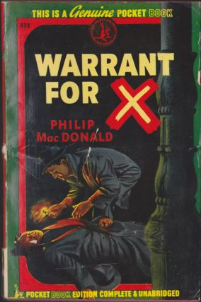 Warrant For X. Philip MacDonald