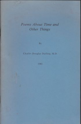 Poems About Time And Other Things. Charles Douglas Darling