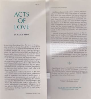 Acts Of Love, An American Novel