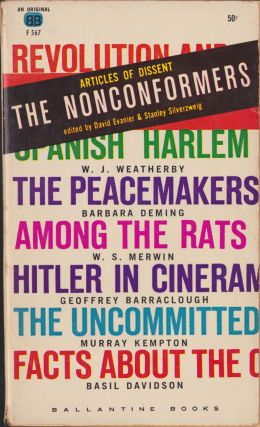 The Nonconformers, Articles Of Dissent. David Evanier, Stanley Silverzweig.