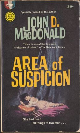 Area Of Suspicion. John D. MacDonald