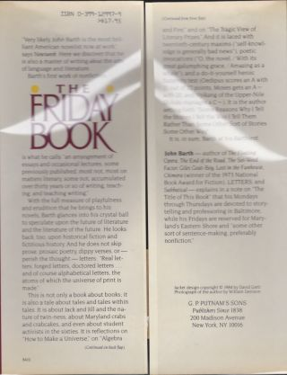The Friday Book; Essays And Other Nonfiction