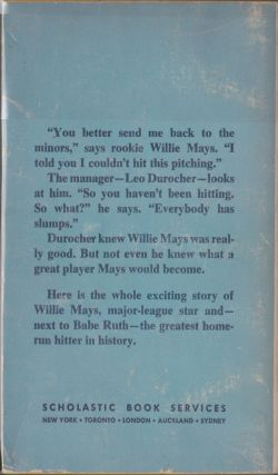 The Baseball Life Of Willie Mays