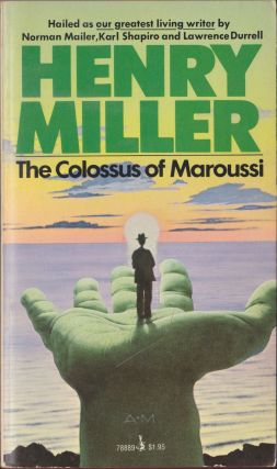 The Colossus Of Maroussi. Henry Miller