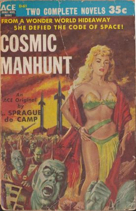 Cosmic Manhunt / Ring Around The Sun. L. Sprague De Camp, Clifford D. Simak