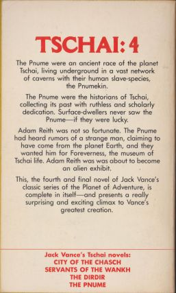 The Pnume (Planet of Adventure 4)
