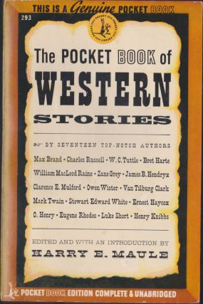 The Pocket Book Of Western Stories. Harry E. Maule