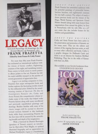 Legacy: Selected Paintings & Drawings By Frank Frazetta