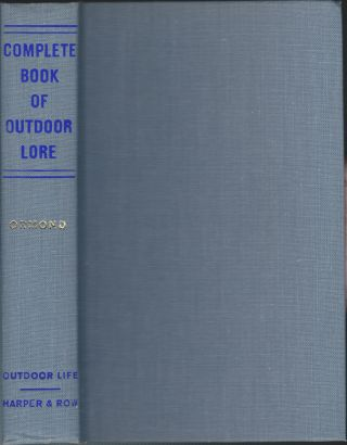 Complete Book Of Outdoor Lore