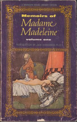 Memoirs Of Madame Madeleine, Volume One. Anonymous