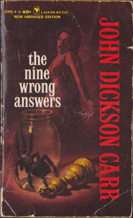 The Nine Wrong Answers. John Dickson Carr