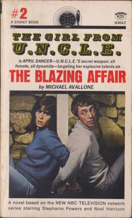 The Blazing Affair (The Girl From U.N.C.L.E. #2). Michael Avallone