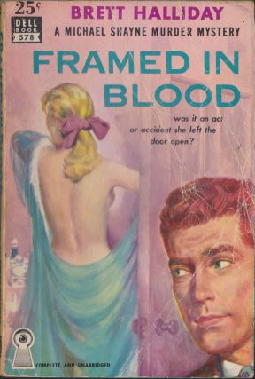 Framed In Blood. Brett Halliday