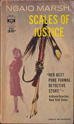 Scales Of Justice. Ngaio Marsh