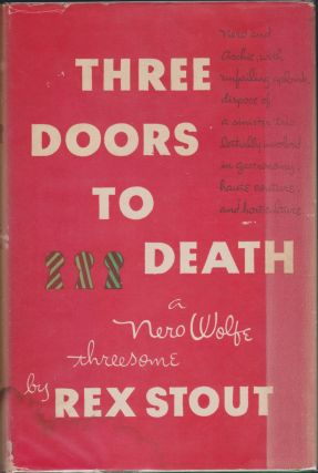 Three Doors To Death. Rex Stout