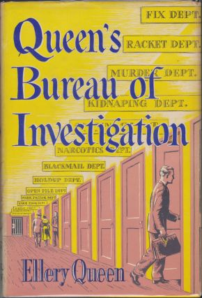 Queen's Bureau Of Investigation. Ellery Queen